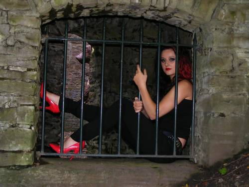 Itno-Promotions Gothic & Fetish modeling photo